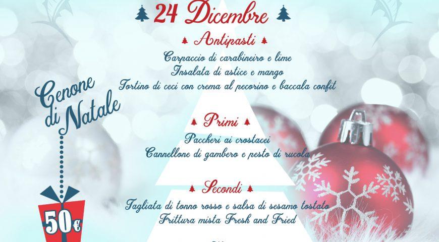 Natale & Capodanno al Fresh and Fried
