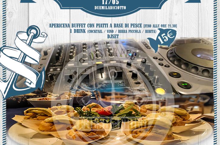 Fresh Aperitif: FoodFish Buffet/ Cocktail Bar / Music