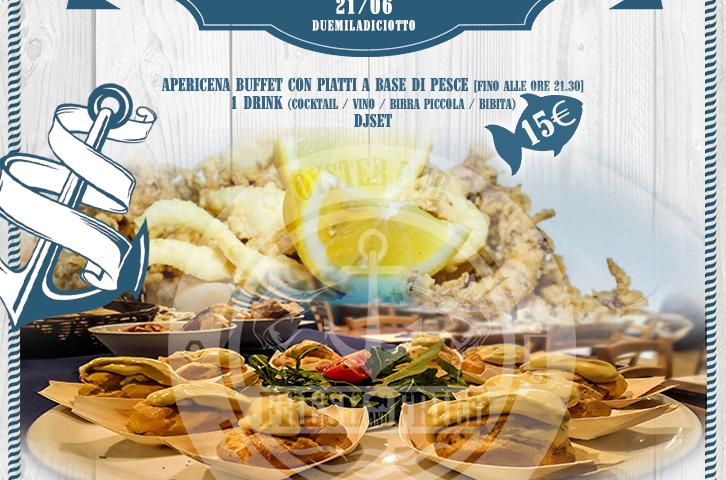 Fresh Aperitif: FoodFish Buffet / Cocktail Bar / Music