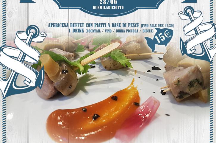 Aperitif FoodFish Buffet in Talenti