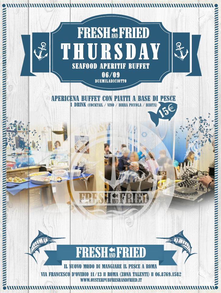 Fresh and Fried: Aperitif Buffet