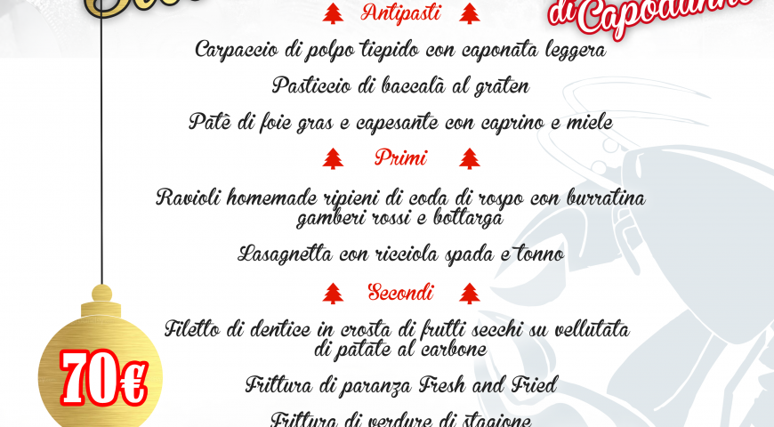 Fresh New Year : Cenone di Capodanno 2019