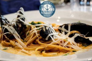 Fresh and Fried - Linguine cozze e pecorino