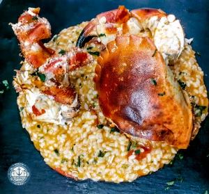 Fresh and Fried - Risotto al Granchio